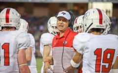 Head football coach steps down