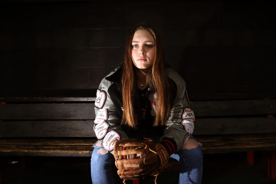 Taylor has received several UIL softball awards in her four years of playing varsity softball.