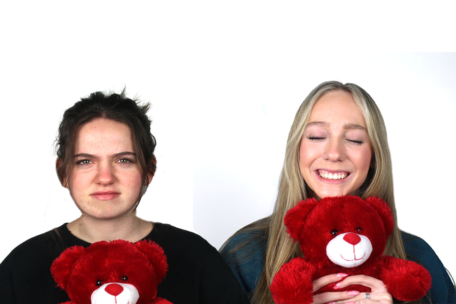 TRL's Layla Healey and Maddi Linsteadt share why their views on Valentine's Day remain true despite one's relationship status.