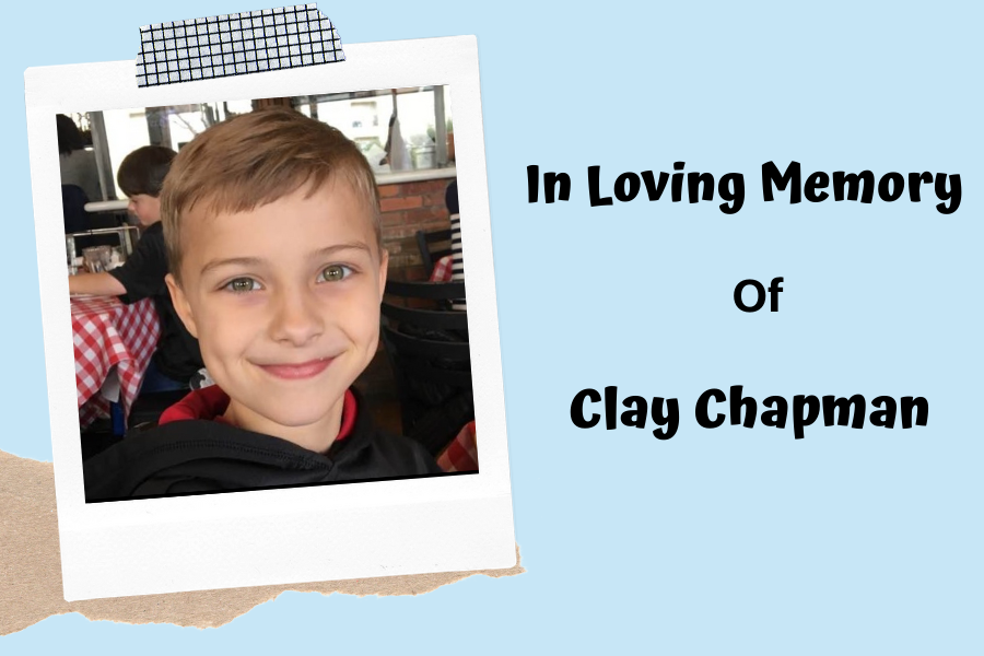 In honor of the loss of fifth grader Clay Chapman, many district members wore his favorite color, blue, to school.