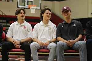 Six athletes sign letter of intent