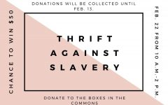 Student-led fundraiser opposes slavery