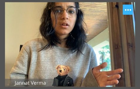 Sophomore Jannat Verma