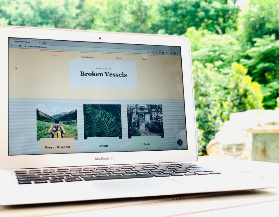 Sophomore Addison Wimbish started a faith blog in 2019 to share her personal struggles with its readers.