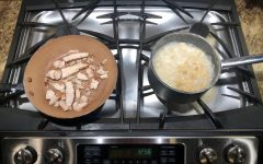 This five star chicken and broccoli alfredo took 20 minutes to make and created the perfect lunch option.