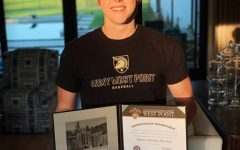 Senior Mason Hutchins will be attending West Point this fall. He is currently unsure about his major but plans on doing intelligence work in the army after he graduates from college.