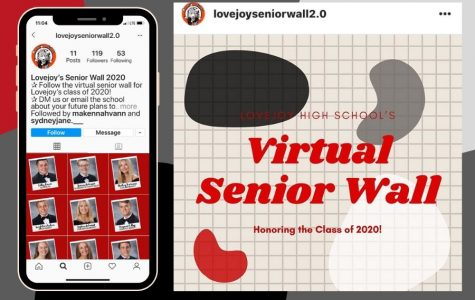 Student council members find a new way to honor seniors with an Instagram account. The account was created in place of the wall in the library, which displays seniors' college decisions.