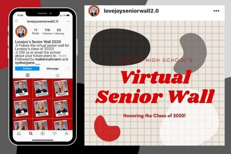 Student council members find a new way to honor seniors with an Instagram account. The account was created in place of the wall in the library, which displays seniors