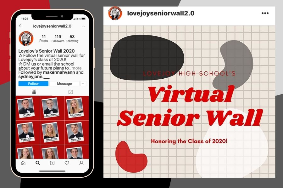 Senior wall tradition stays alive virtually