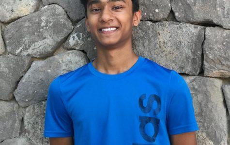 Freshman Arya Raju