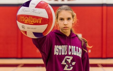 Junior Grace Milliken recently committed to Boston College to further her volleyball career. Milliken currently plays as a middle hitter for Lovejoy.
