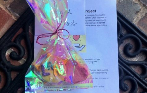 The LARK club has been spreading kindness through letters and small gifts. The club is run by senior Lia Hopkinson.