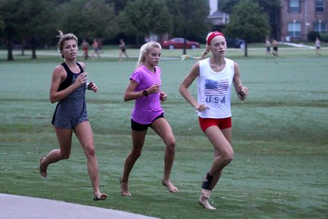 Cross country attends meet in Round Rock