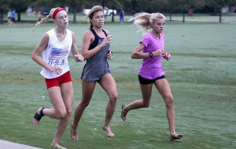 Cross country runs the extra mile