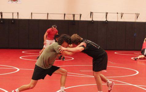 Wrestling hits the mats