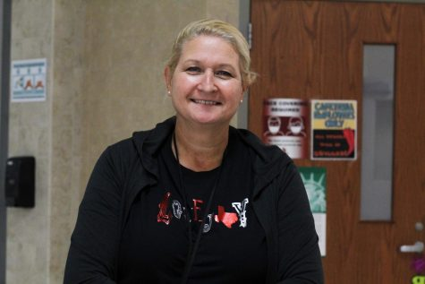 Jackie Palovik is the manager of the Lovejoy High School lunch staff. Palovik has worked for the district for 13 years.