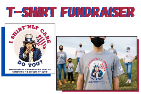 Brady Farrah is holding a t-shirt fundraiser. He is selling the shirts to raise money for ACO.