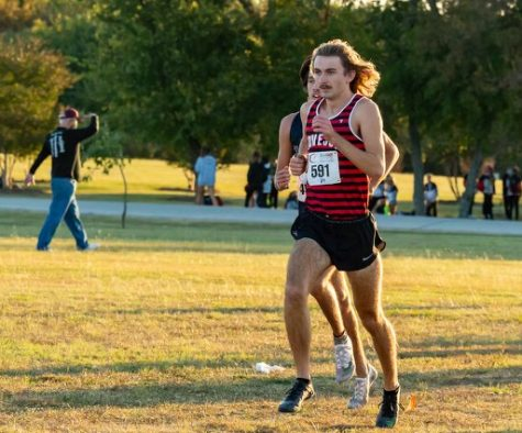 Senior Trevor Malik has been in cross country for six years. Malik
