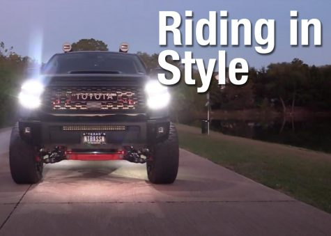 VIDEO: Riding in style