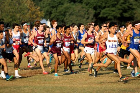 The state race took place at Old Settlers Park in Round Rock. The boys team took fifth place at the meet.