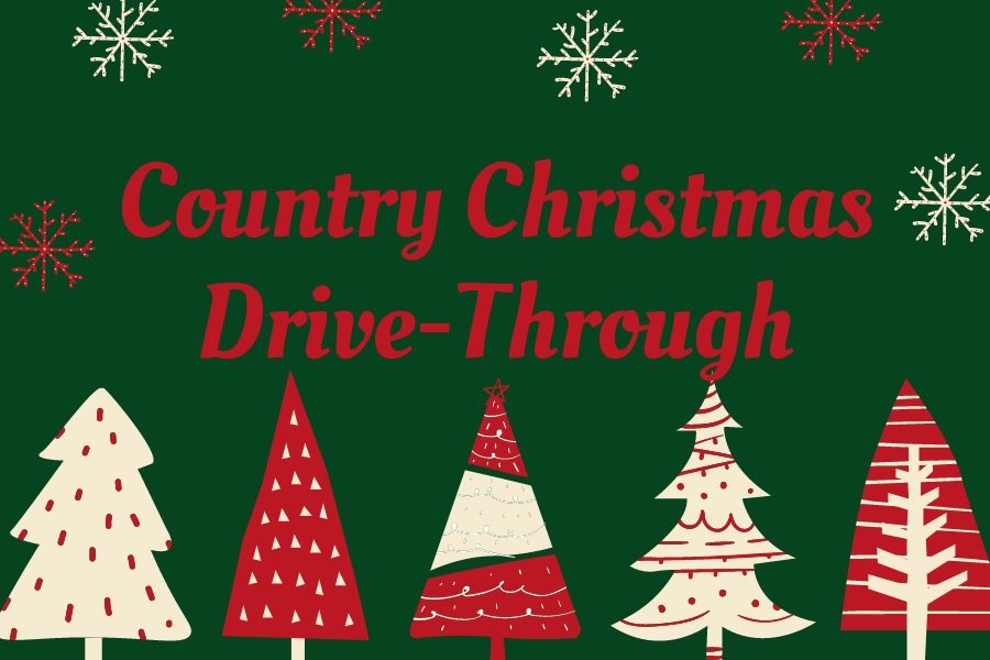 The City of Lucas is hosting a Country Christmas drive-through at City Hall tonight. There is no entry fee for the event.