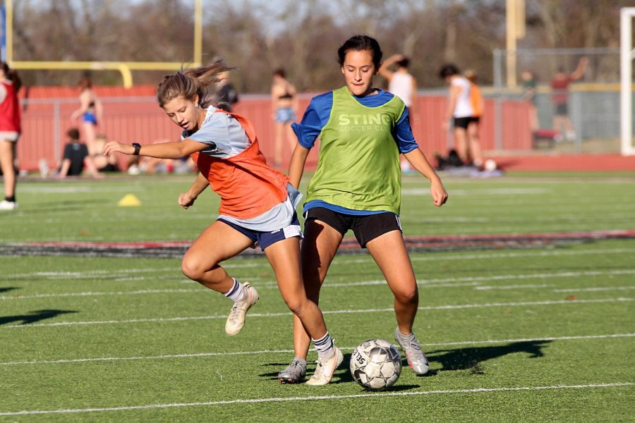 Girls soccer team seeks district championship