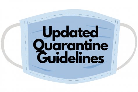 The school released an email updating district families and staff about quarantine guidelines for those who have been in close contact with COVID-19.
