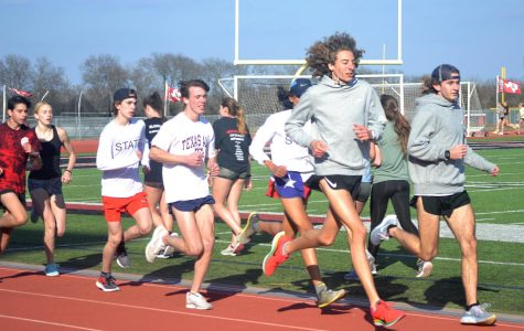 Track prepares for competition
