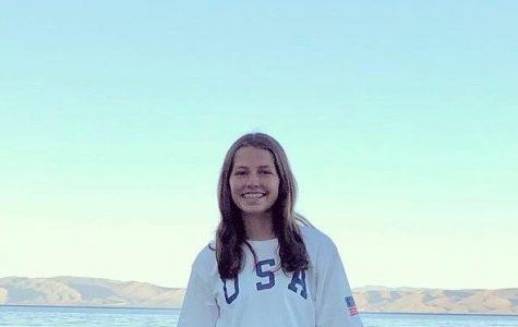 Freshman Kate Carlson