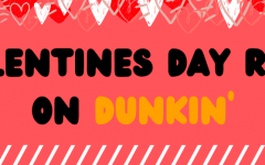 In the spirit of Valentine's Day on Feb. 14, TRL's editorial board tried the a few special treats from Dunkin' Donuts. The four items taste tested were the Brownie Batter Donut, Cupid's Choice Donut, Mocha Macchiato and Pink Velvet Macchiato.