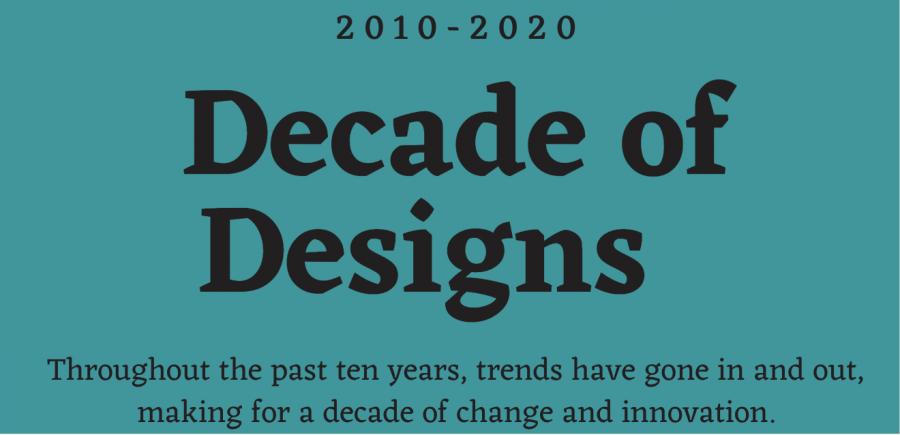 Decade of designs