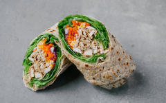 Chick-Fil-A offers grilled chicken and salads as healthy alternatives. Bouldin's favorite is the Grilled chicken cool wrap.