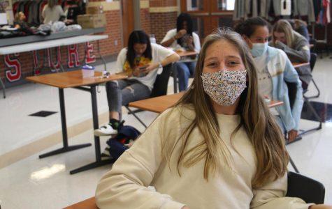 Sophomore Hannah Dollinger