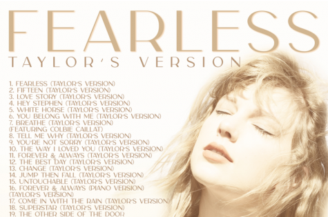 "Taylor Swift released a reimagined version of her 2008 album ""Fearless"" on April 9. TRL"