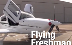 VIDEO: Leopard Pause: Flying Freshman