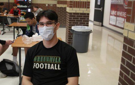 Sophomore Anthony Morgello