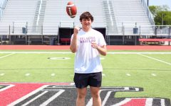 Freshman linebacker and quarterback Payton Pierce recently moved to the district from Allen. Pierce was named one of Dave Campbell's Texas Top 25 of 2024.