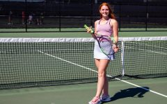Senior Taryn Sutherlin plays tennis, as well as being in debate. Sutherlin started the Women in Business club this year.