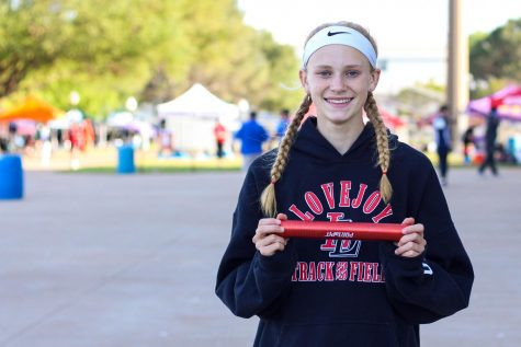 Freshman Kailey Littlefield advanced to state as a part of the 4x400 meter relay team. Littlefield is the anchor on the team.