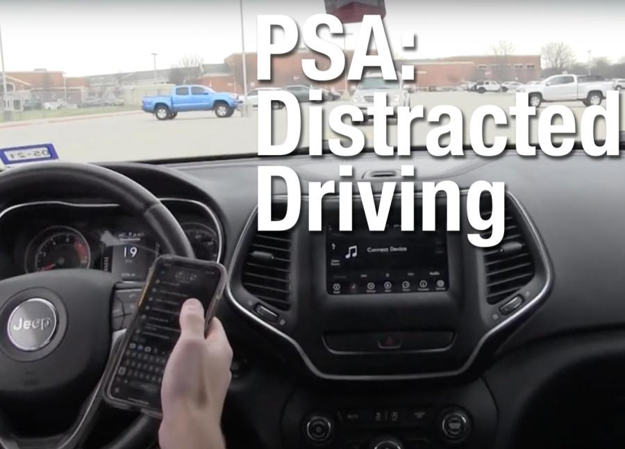 Leopard Spotlight #5: PSA Distracted Driving