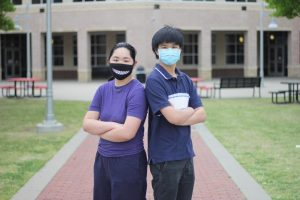 Freshman Hannah Mao and senior Andrew Mao competed in UIL together, facing off in friendly competition. Andrew and Hannah will compete at UIL Regionals on April 16 and 17.