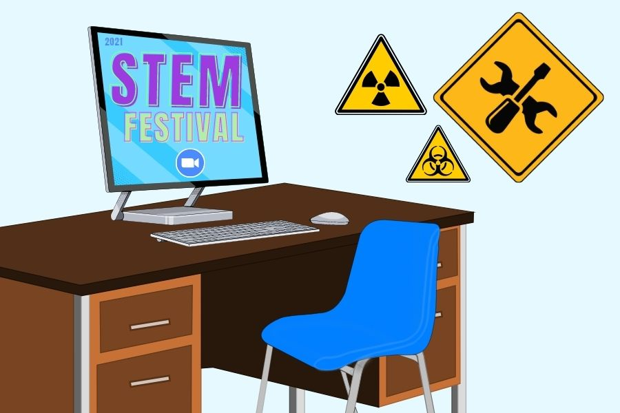 The+School+held+its+fourth+annual+STEM+Festival+on+Saturday.+The+event+allows+students+to+gain+information+on+STEM+related+careers.+