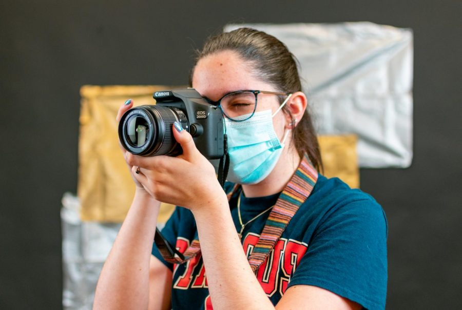 Senior Amelia Flinchbaugh was recognized as Jostens Photo Contest 2021 winner for outstanding photography. She serves as co-editor-in-chief on the 2021 Leopard yearbook.