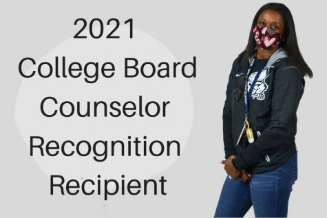 Lead and senior counselor Mary Cabrera was named as one of the College Board Recognized Counselors.   Cabrera works with the seniors and helps them meet all of their deadlines for applying to colleges.