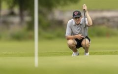 Senior Jay Pabin competed in the state golf tournament. Pabin will be playing for the Colorado State University.