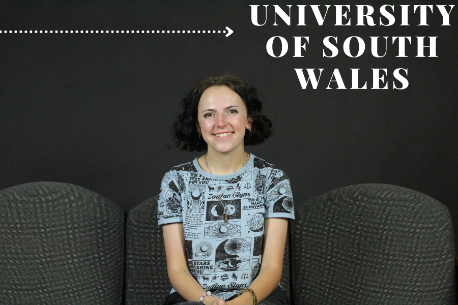 Senior Kristina Marshall will be attending the University of South Wales. Marshall plans to major in forensic science.
