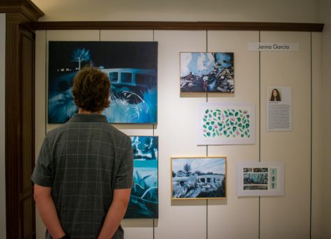 On May 15th, the high school had its 11th annual AP Visual Arts studio exhibit. Community members came to view the work that students had created.