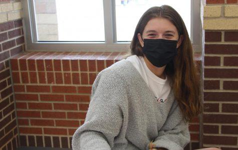 Senior Julia Brochu
