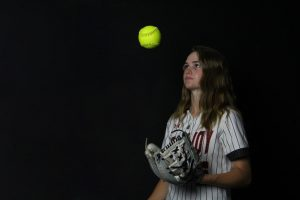 Freshman Skylar Rucker is the Leopard's starting shortstop. Rucker also pitches for the Leopards.