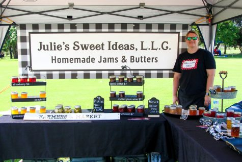 Julie Jillo started her homemade jam business three years ago. Jillo plans on selling salsa soon as well.